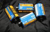 Entwickeln von Dia-Film mit c-41 Chemikalien AKA E-6(-)