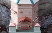 Sechseckige Bienenstock-Boxen, Warre Stil