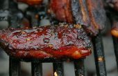 Fünf Gewürze Honig BBQ Rib Tipps