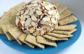 Wie erstelle ich einen Käse-Ball + meine Lieblings-Rezepte - Speck Pecan und Cranberry-Mandel