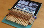 Wäscheklammer Klavier für iPad