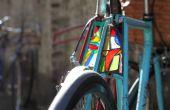 Wie erstelle ich eine Glasmalerei Fahrrad Licht