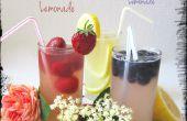 Floral Limonade – Limonade verstärkt eine Kerbe,
