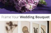Rahmen Ihrer Hochzeit Bouquet