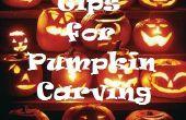 Halloween-Kürbis schnitzen Tipps