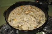 Dutch Oven Huhn und Reis