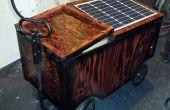 Solarbetriebene Festival Warenkorb