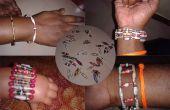 BI konische Papier Perlen Armbänder
