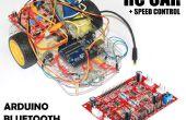 Geschwindigkeit gesteuert RC Auto mit (4 CH-Motor-Treiber-Controller + Arduino Bluetooth)
