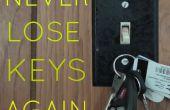 Machen Sie einem beliebigen Lichtschalter eine magnetische Schlüsselanhänger (VIDEO)