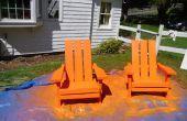Massivem Holz Adirondack Stühle