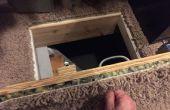 $14 geheime Crawlspace Zugangstür