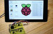 Raspberry Pi analog zu digital A/D-Wandlung Board und Spannungsanzeige GUI