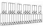 Lernen, das Xylophon spielen