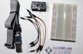 Hochladen von Skizze auf Arduino Pro Mini mit UsbASP