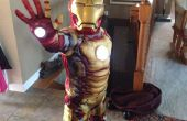 Einfach und billig Repulsor Lichtquellen hinzufügen Childs Iron Man Kostüm