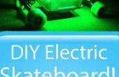 DIY-Elektro-Skateboard mit Lichtern