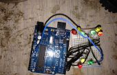 Ampel, 9 führte mit Arduino Uno