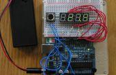 4-stellige 7-Segment LED-Anzeige + Arduino