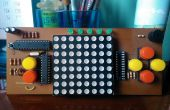 Arduino-Dot-Matrix-Spiel-Konsole