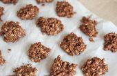 Schokolade & Kaffee No-Bake Haferflocken Cookies