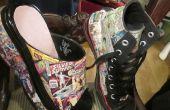 Comics-Schuhe: Hightops & Plattform Clogs