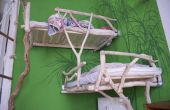 Kinder Bett aus Holz Forrest