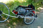 Wandeln Sie ein Kind der Fahrradanhänger von Extrawheel in einen Cargo-Trailer.