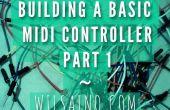 Gebäudeteil eine grundlegende Midi Controller 1 - einfache 3 Effekte Topf (Potentiometer) Arduino Uno MIDI-Controller (seriell-USB)... Schnell, einfach und billig!