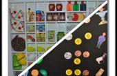 Mini-Supermarkt-Regale, Restaurant, Schule...