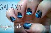 Galaxy-Fingernägel
