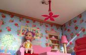 Puppenhaus fan 3D gedruckt