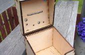Spule, aufklappbaren Box