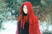 Häkeln Sie eigene wenig Red Riding Hood Cape