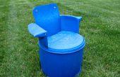 Recycling-55 Gallone Faß Stuhl