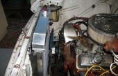 Wie installiere ich einen neuen Kühler in einem 1957 Chevy Truck