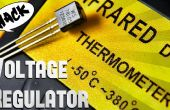 Spannungsregler 7805 in Temperatursensor Hack