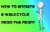 Gewusst wie: ein Walkcycles von der Front in Flash animiert