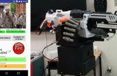 WiFi / Internet / Android kontrollierte Sentrygun Nerf Vulcan