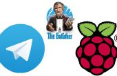 Einrichten von Telegramm Bot auf Raspberry Pi