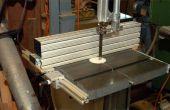 Machen Sie eine Bandsäge Zaun aus Aluminiumprofilen
