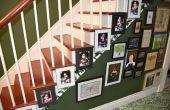 Treppe Bild Aufhänger