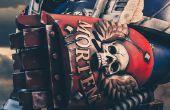3D Drucken eine Powerfaust artikulierten Warhammer 40k