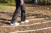 Ein Hinterhof-Labyrinth bauen