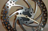 Machen Sie eine Uhr aus einem Fahrrad Bremsscheibe