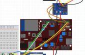 Steuerung der Servos über Bluetooth (RN-42) und LabVIEW