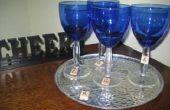 Scrabble(TM) Glas Wein Charms