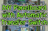 DIY Leistungsschalter Panelboard mit automatischer Transfer Schalter (ATS), Dosierung und Computer-Steuerung.