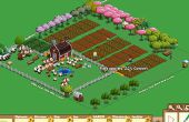 Machen einen echten Farmville Garten