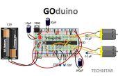 GOduino - das Arduino Uno + Motor Treiber Klon